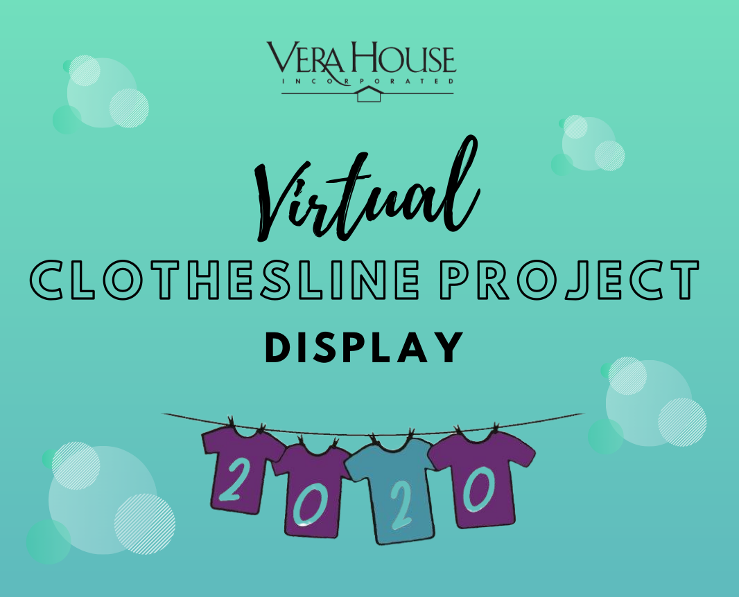 Clothesline Project Display -