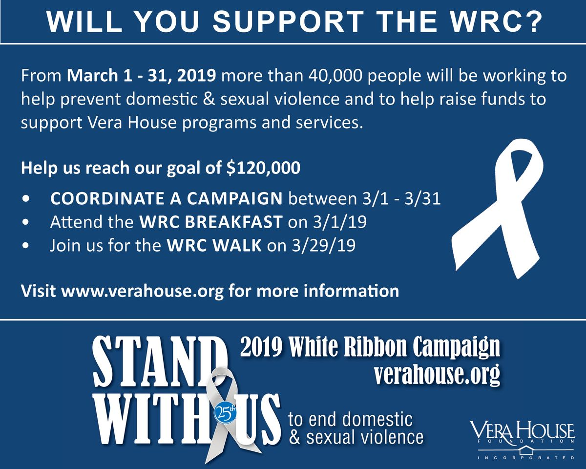 Support the White Ribbon Campaign -