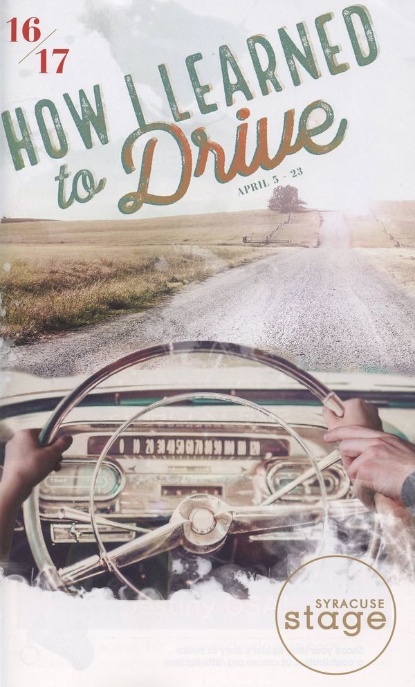 how i learned to drive Cleveland, ohio - in the cleveland play house production of paula vogel's how i learned to drive, a massive ribbon of road, positioned center stage, rises from the floor and disappears into the darkness of the rafters.