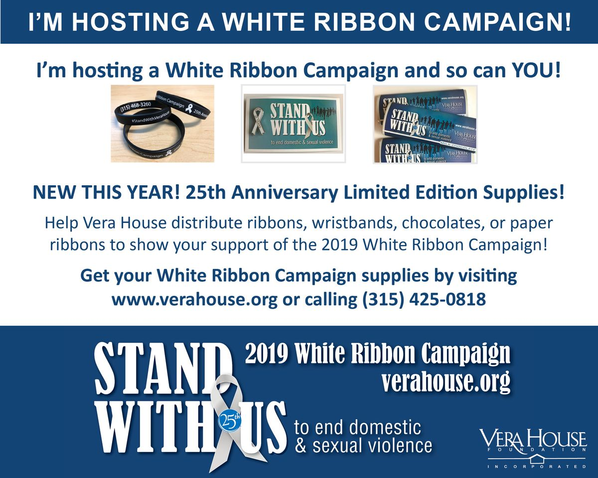Host a White Ribbon Campaign -