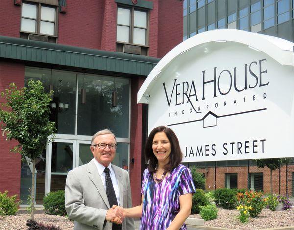 Captivating Senator DeFrancisco Announces $25,000 Grant To Support Vera House