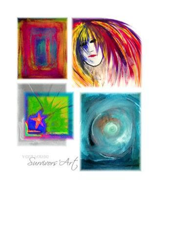 Survivors' Art Collage -