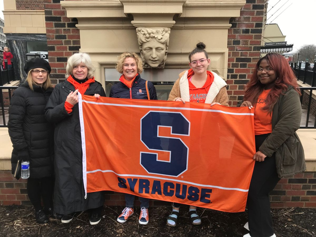 Representatives from Syracuse University -