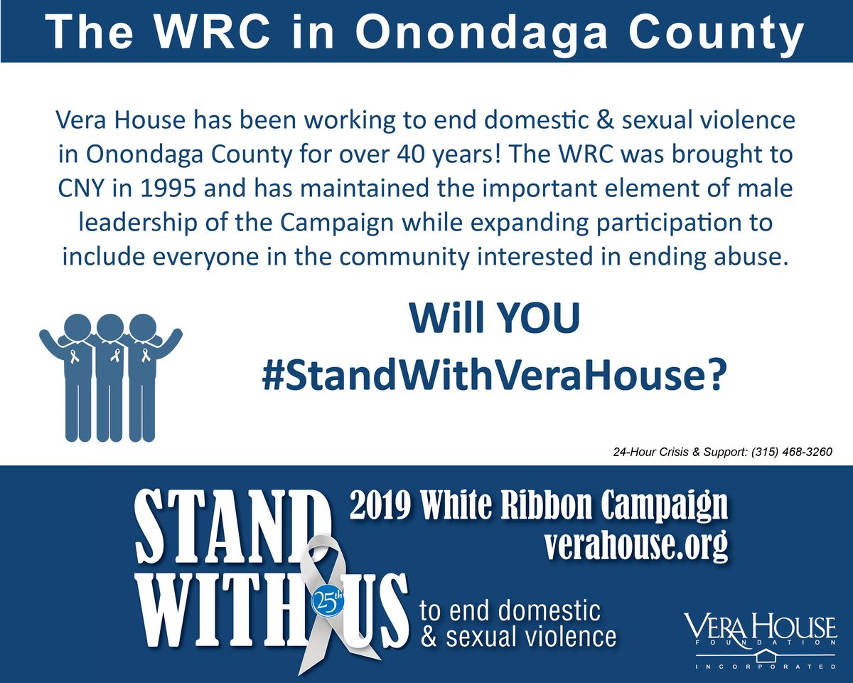 White Ribbon Campaign in Onondaga Co -