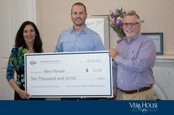 Bankers Healthcare Group Presents Donation to Vera House